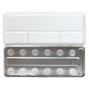 Metalen doos voor 12 pearl kleuren