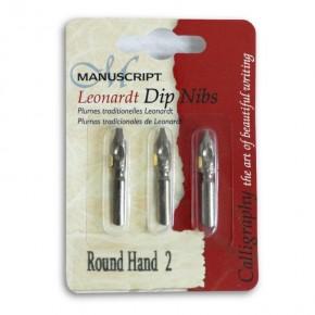 Runde Hand Stiftspitzen - Set 2