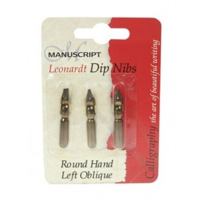 Left-handed Round Hand nibs