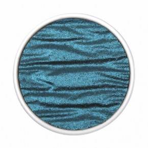 Finetec perle udskiftning - Påfugl Blå