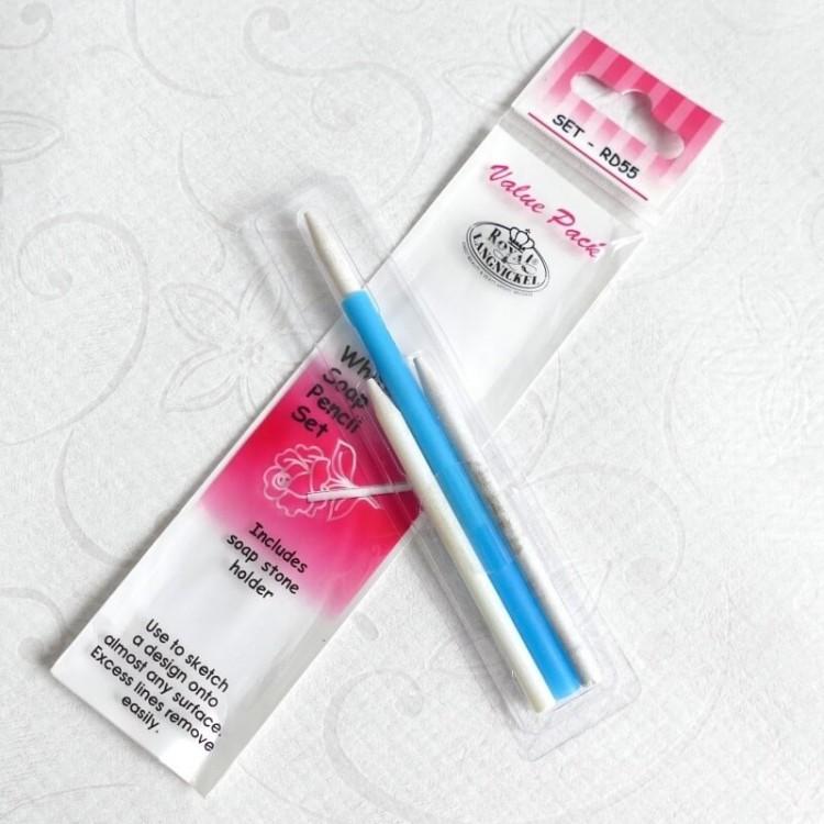 Weiße Seife Stein Bleistift Set