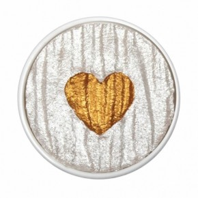 Herz aus Gold - Perle Ersatztinte. Coliro (Finetec)