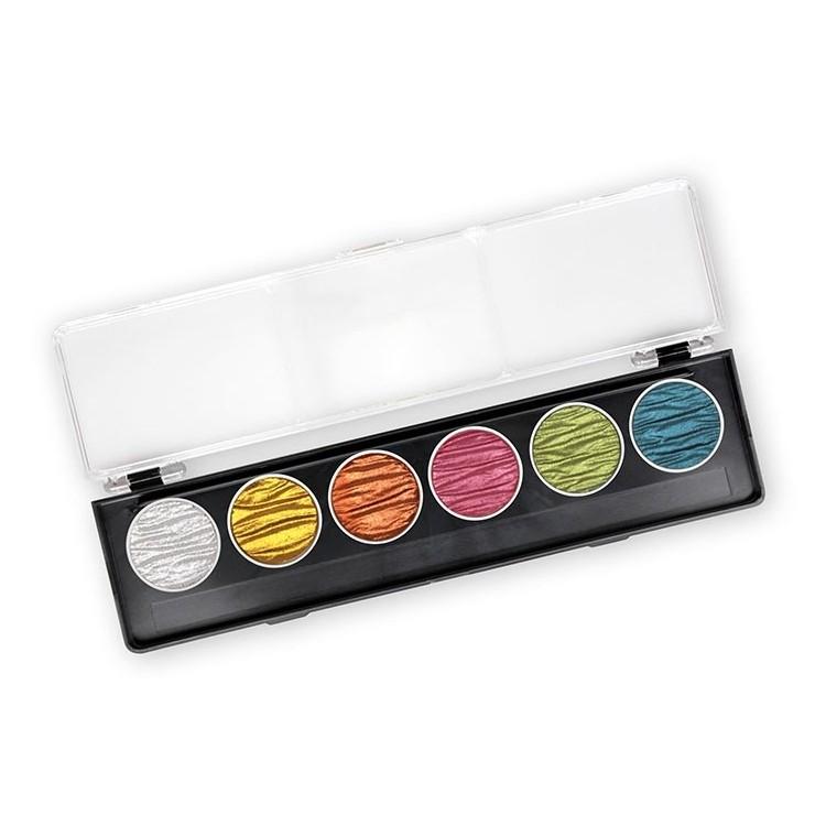 Candy - 6 perle inchiostri a colori pigmentati 30mm