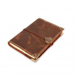 Handmade leather journal 14x21