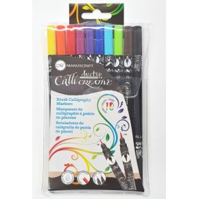 Brush Calligraphy Markers - Duo Tip