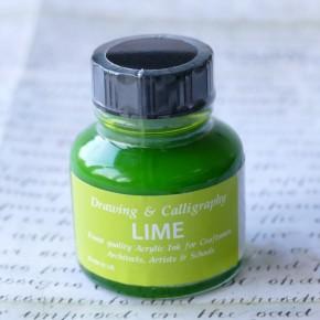 Encre acrylique Vert citron