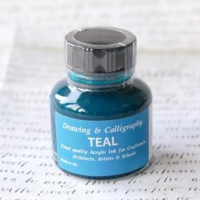 Teal Acrylic Ink