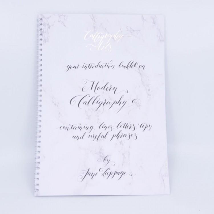 Libretto di calligrafia moderna