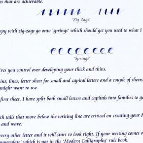 Kopen Modern kalligrafieboekje | Calligraphy Arts