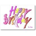 Feliz cumpleaños - niñas