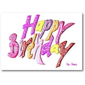 Grattis på födelsedagen - Flickor