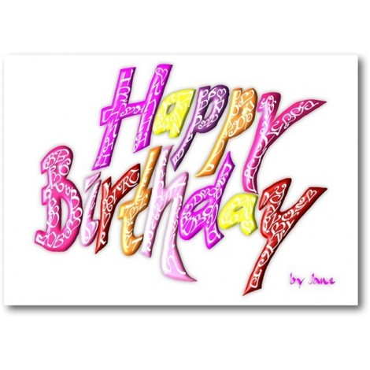 Tillykke med fødselsdagen - Piger