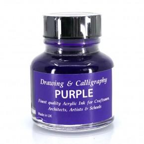 Violett Acrylfarbe