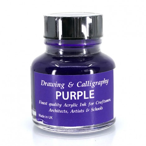 Purple Acrylic Ink