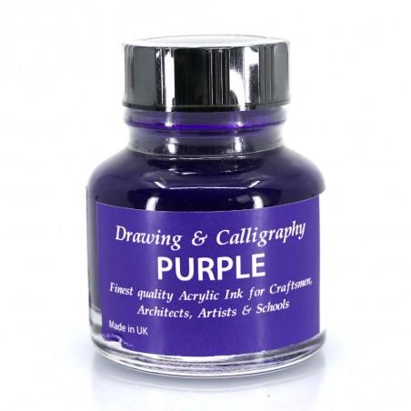 Purple Acrylic Ink