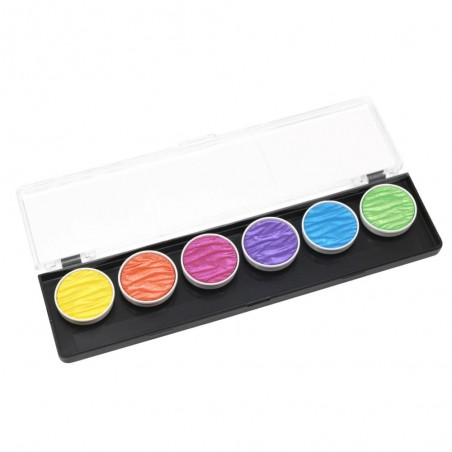 Vibrant - 6 pearl colour pigment inks 30mm