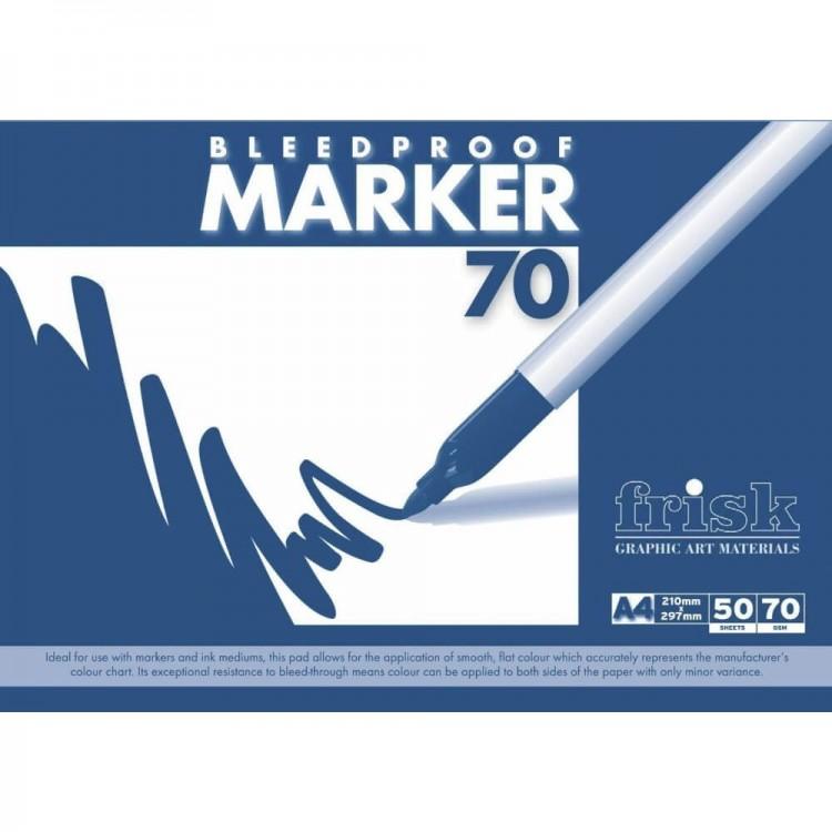 Frisk bleedproof markeerstift (70g/m2)