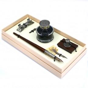 Set di scrittura calligrafia in legno