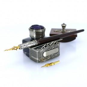 Wooden calligraphy desk set - Corner