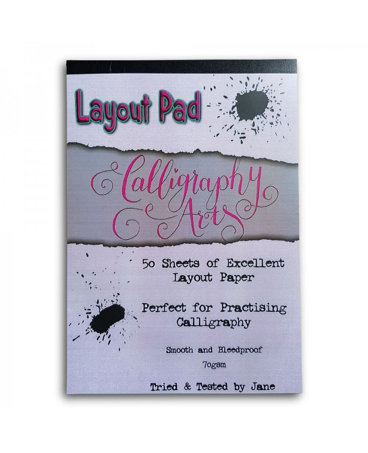 Bleed-proof Layout Pad (70gsm)