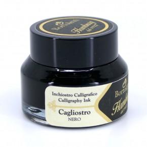 Zwarte Italiaanse kalligrafie-inkt - Hamburg Cagliostro