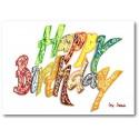 Grattis på födelsedagen - Allmänt (Ljus)