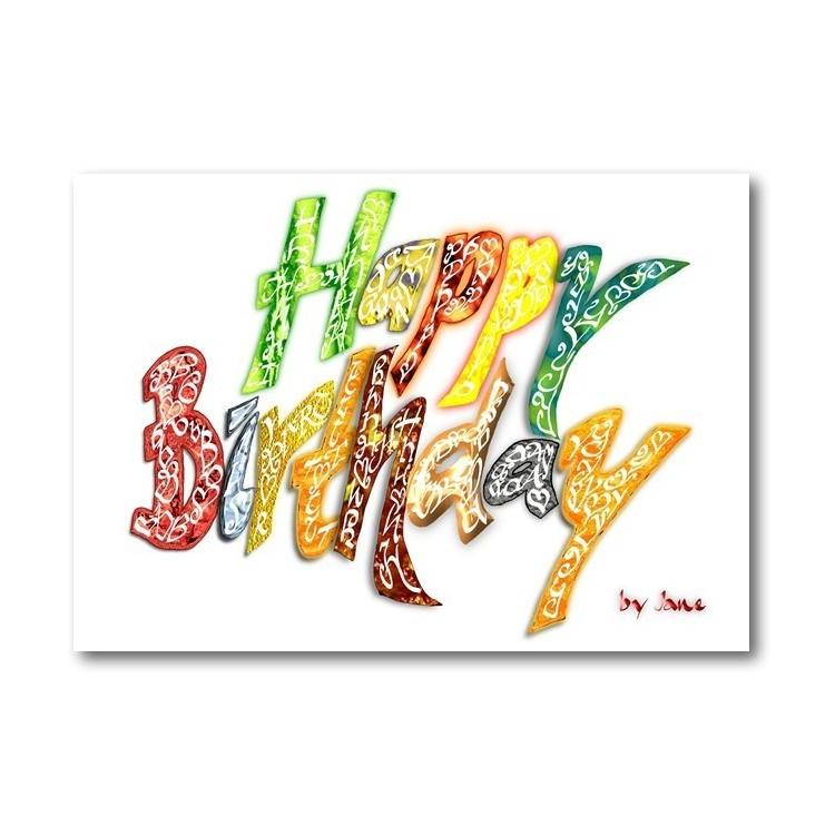 Tillykke med fødselsdagen - Generelt (Lys)
