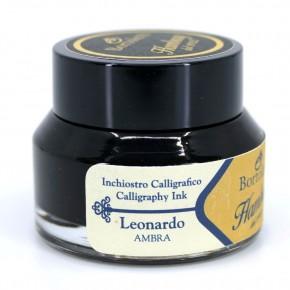 Amber Italian Calligraphy Ink - Hamburg Leonardo