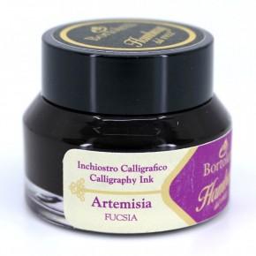 Fuchsia Italiaanse kalligrafie-inkt - Hamburg Artemisia