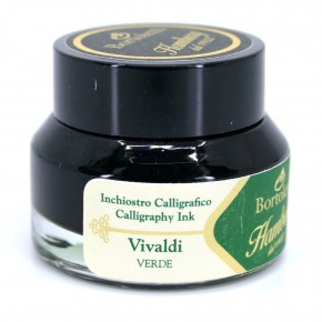 Green Italian Calligraphy Ink - Hamburg Vivaldi
