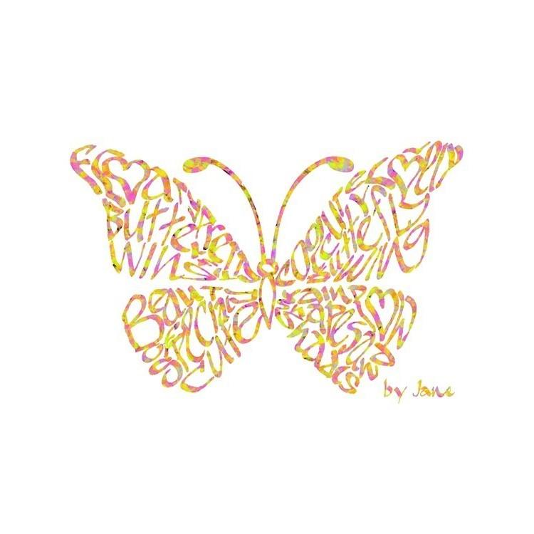 Confetti Vlinder