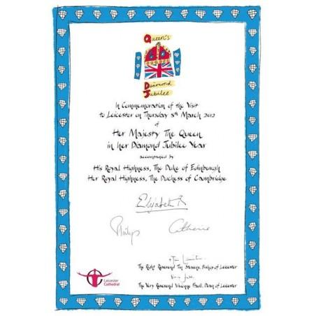 Diamond Jubilee Certifikat