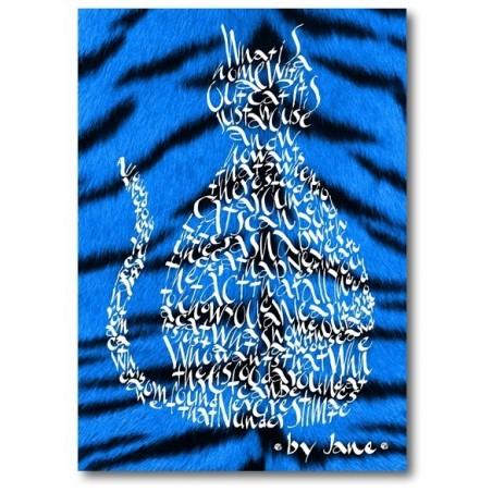Blau Elèctric Gat Tigre