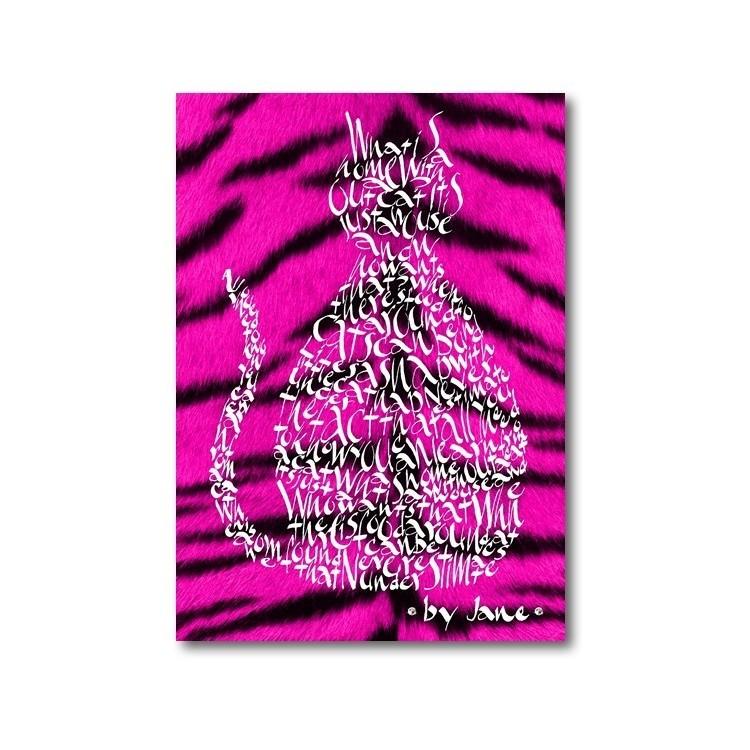 Ciliegia rosa gatto di tigre
