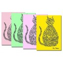 Pastel Cat Notelets