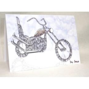 Old Skool Chopper Card