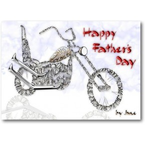 Fathers Day Old Chopper Escola