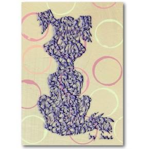 Purple Koira ympyrät