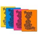 Notelets gossos en brillants colors