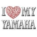 Je aime (coeur) mon Yamaha