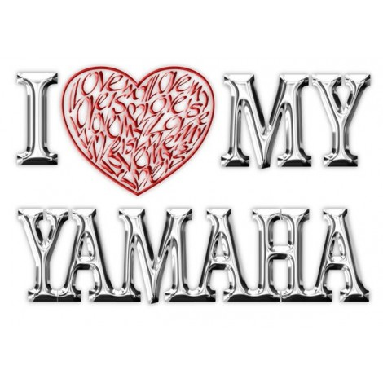 Amo (corazón) mi Yamaha