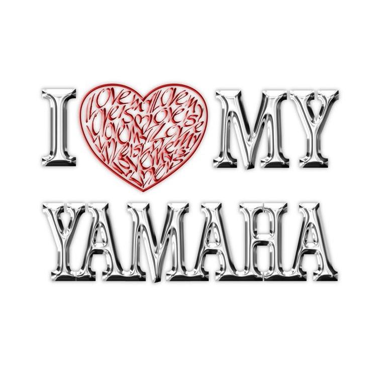 Ik houd (Hart) van Mijn Yamaha