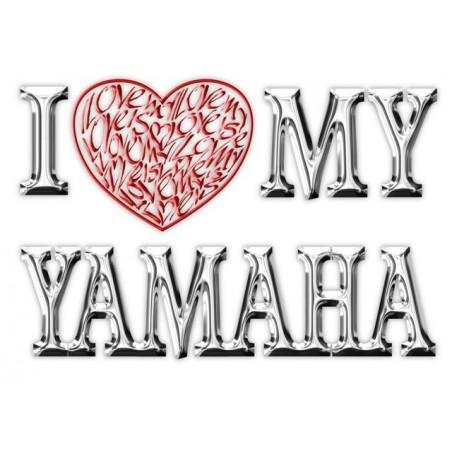 Ich liebe (Herz) meine Yamaha