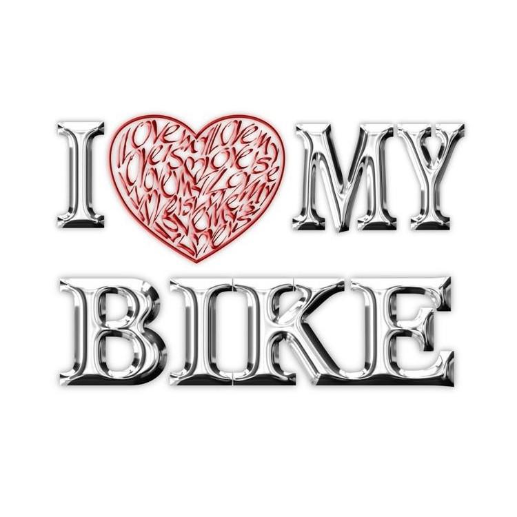 Amo (cuore) la mia moto