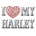I Love (Heart) min motorcykel