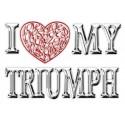 I Love (Heart) My Motorcycle