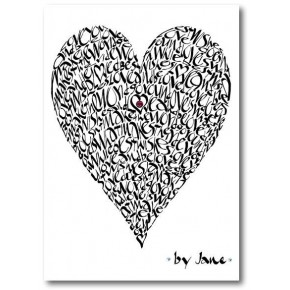 Kärlek Hjärta