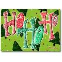Ho Ho Ho Weihnachtskarte