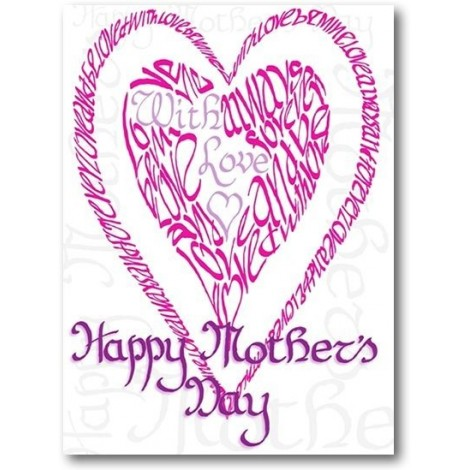 Happy Mother's Day in Pink