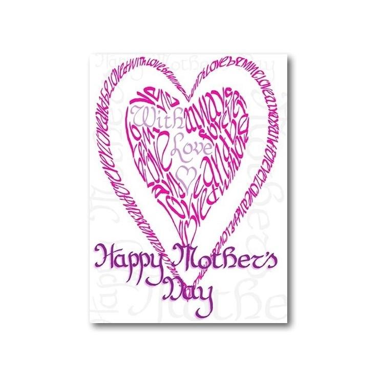Lycklig mors dag i rosa